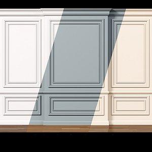3D wall 7 model