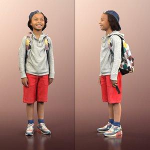 3D boy cap bag