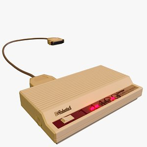 vintage modem 3D model