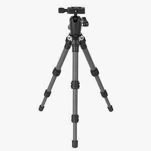 Tabletop carbon camera tripod 03 3D