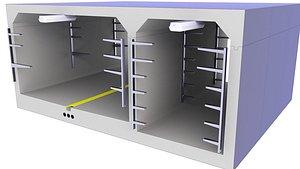 tunnel technical concrete model