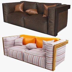 leather sofa model