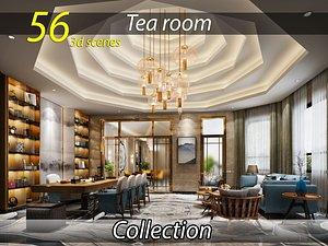 3D Collection Tearoom 3d model download