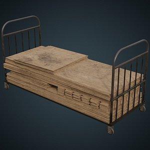 3D transport trolley wooden sheets