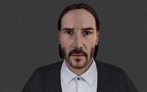 parabellum john wick - 3D model