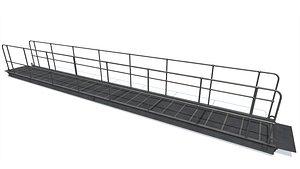 coastal ladder 3D model