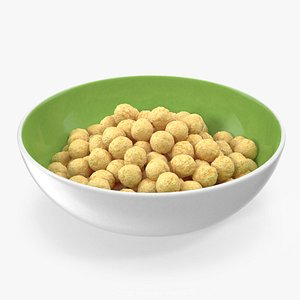 3D Bowl of Cereal Balls