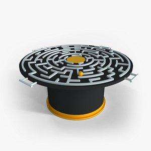Maze Runner Game 3D model