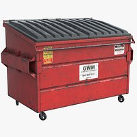 Dumpster Red