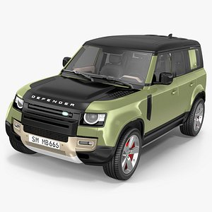 3D Land Rover Defender Country Pack