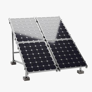 Solar Panels 1 3D
