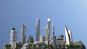 3D City LC model