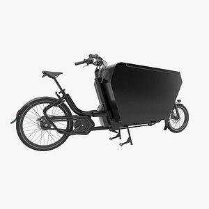 3D Urban Arrow black cargo large model