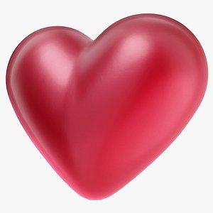 3D cute heart