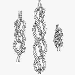 3D model braid