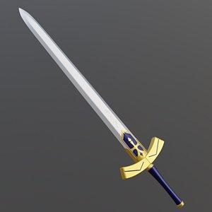 fate zero sword model