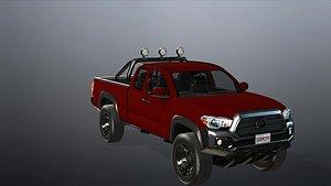 Realistic car 3D model model