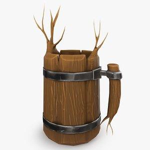 Medieval Elf Mug 3D model