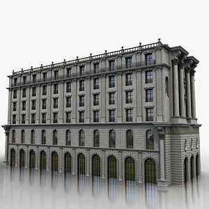 3D model historic building