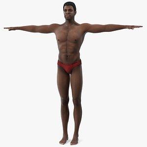 african american man t 3D