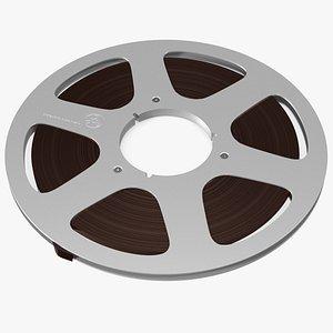 Audio Reel to Reel Spool with Tape model