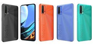 3D Xiaomi Redmi 9T All Colors