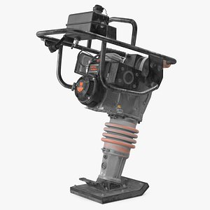 3D model 56040 tamping rammer dirty