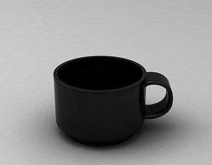 3D model PRINT CUP---002