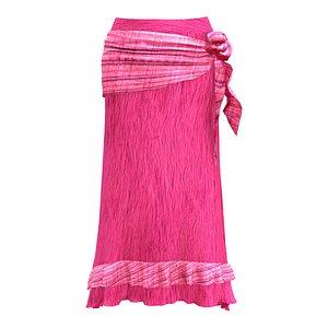3D Gypsy Skirt