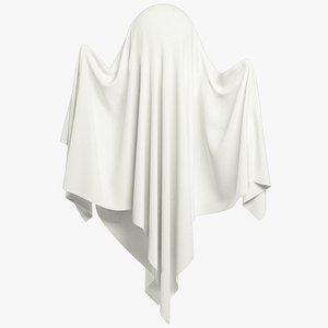 Funny Ghost Blank V1 3D model