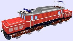 3D electric locomotive 1020 crocodile