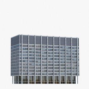 3D One Chase Manhattan Plaza V4 model