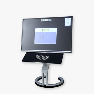 3D model computer electronic pc