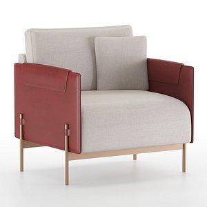 aston martin armchair 3D