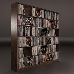 Vinyl Storage No-14 3D model