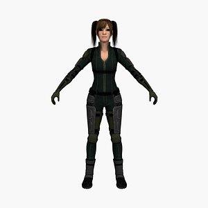 cat woman 3D