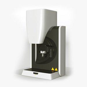 dental scanner 3D model