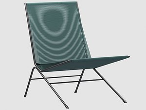 3D allan gould string lounge chair model