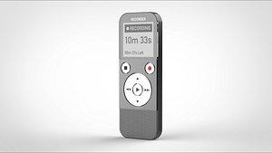 3D voice recorder