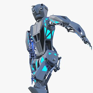 3D Robot Concept