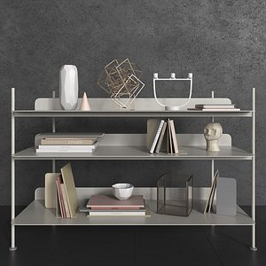 3D muuto shelves decorative filling