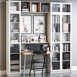 IKEA office workplace 88 3D