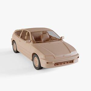 1988 Honda CRX Si model