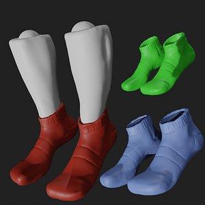 3D Colored socks