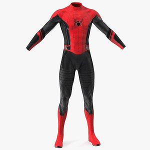 3D model Spider Man Suit