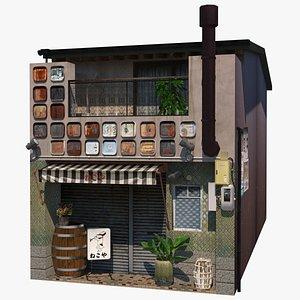 Izakaya Building 3D model