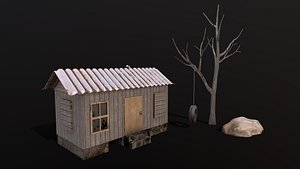 shed tree 3D