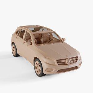 2016 Mercedes-Benz GLC-Class 3D model
