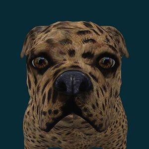0046 Dog 3D model