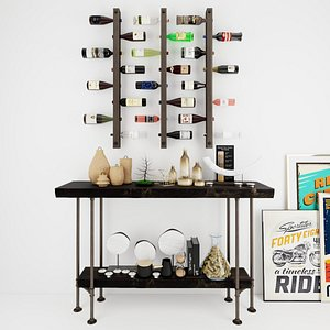 3D Wine Rack WR7